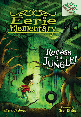 Book cover for Recess is a Jungle