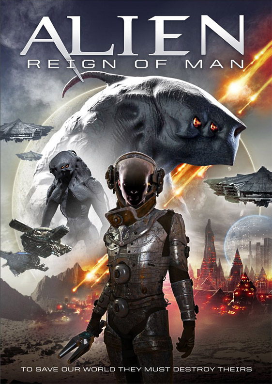 Movie cover for Alien Reign of Man