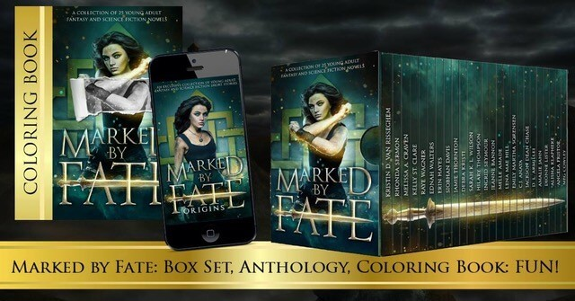 Book cover for Marked by Fate