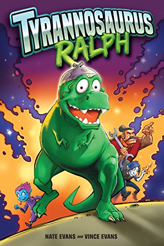 Book cover for Tyrannosaurus Ralph