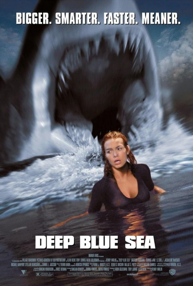 Movie cover for Deep Blue Sea