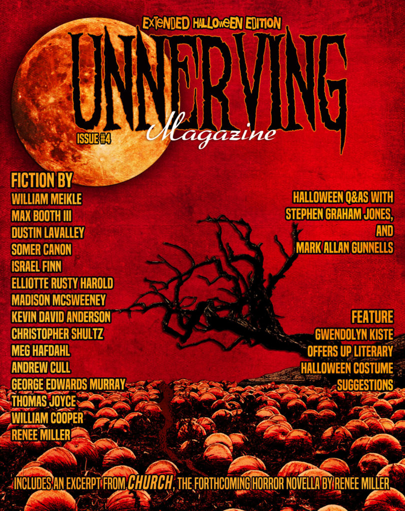 Issue 4 of Unnerving Magazine