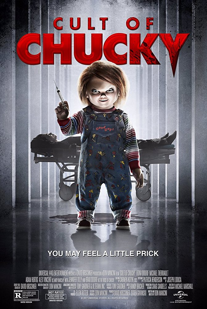 Movie poster for Cult of Chucky